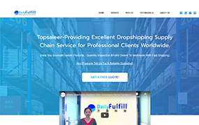 wordpress仿外贸提供直接运输供应链服务网站